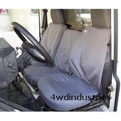 Seat Covers Set 3 Front GREY Waterproof Britpart Land Rover Defender to 2007 DA2815GREY