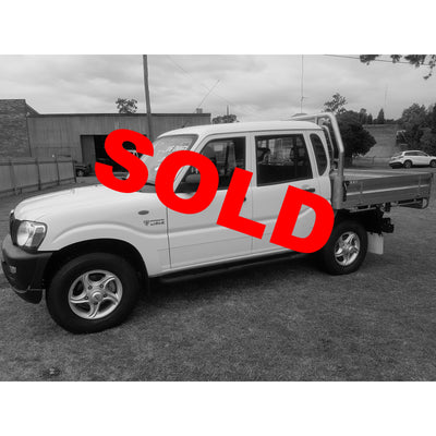 SOLD! 2016 Mahindra Pik-Up 4x4 Dual Cab 15,000KM Like New Condition