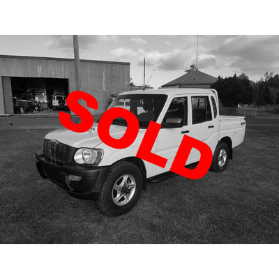 2010 2.5L Mahindra Pik Up Dual Cab Great condition