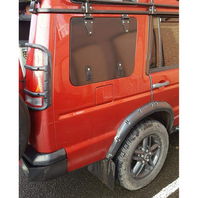 TUFF ROK Gullwing Window PAIR for Land Rover Discovery 2 D2