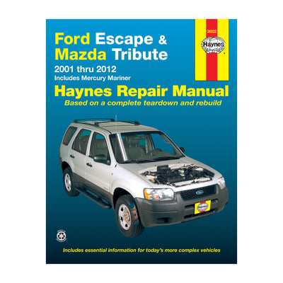 HAYNES Repair Manual 36022 Ford Escape & Mazda Tribute (2001-2012) (USA)