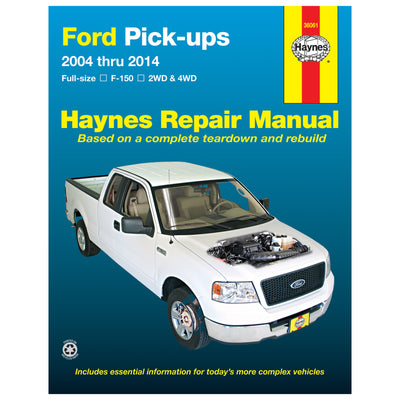 HAYNES Repair Manual 36061 Ford Petrol F-150 2WD & 4WD (2004-2014) (USA)