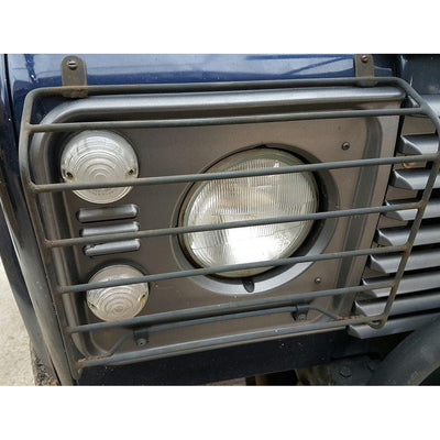 Headlight Guards Front Grill Military Land Rover Defender Perentie DA4077