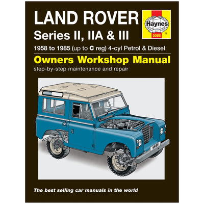 HAYNES Repair Manual 5568 Land Rover Series II IIA & III Petrol & Diesel (58-85)