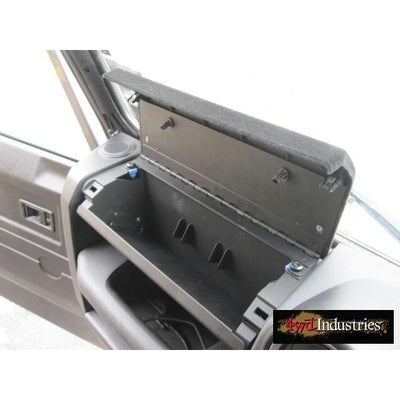 Glove Box Dash Storage Puma Land Rover Defender 2007 On MUD UK Steel Glovebox