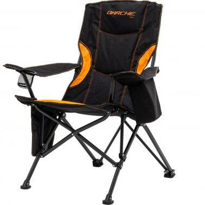 DARCHE 260 King Size Foldable Camping Chair + Free Zipper Carry Bag