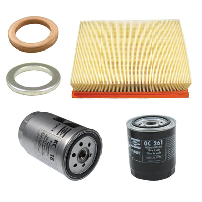 Filter Service Kit Air Oil Fuel Land Rover Discovery 1 300Tdi OEM Filters Diesel LFK05