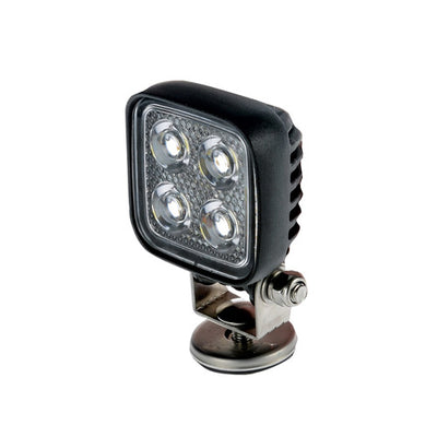 4 LED Thunder Work Light 70mm 12/24V Square TDR08108