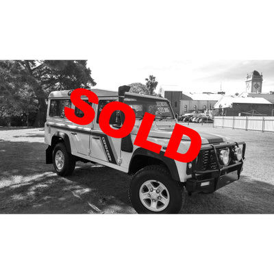 SOLD! Land Rover Defender 2.5L TD5 2000 Model 311,624km Great Condition