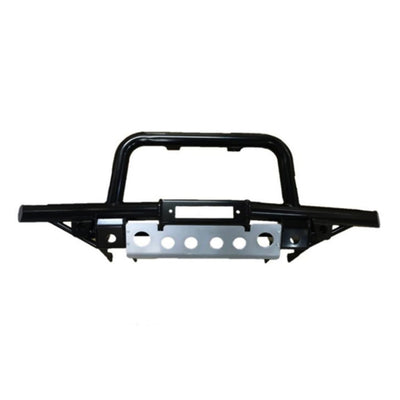 BUMPER WITH A BAR (winch compatible) LAND ROVER DEFENDER AIR CON - BLACK RE5B805