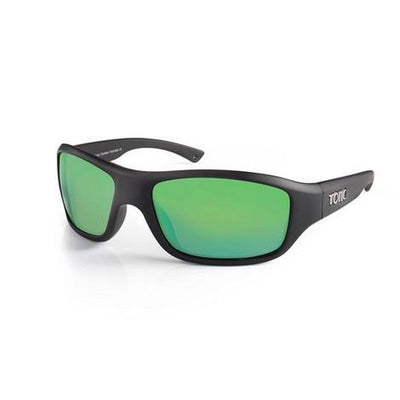 TONIC Shades Evo Matt Black Glass Mirror Green G2 SliceLens