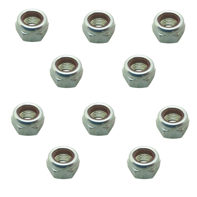 10 x Land Rover Propshaft Nut for Discovery Defender RR Series 1/2/2a/3 NZ60604