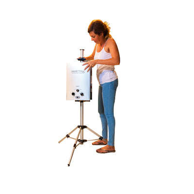 Smarttek Instant Portable Hot Water System Tripod Stand Camping Shower Pet Wash