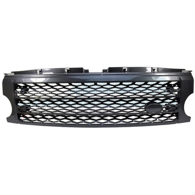 Front Carbon Fibre Style Radiator Grille suits Land Rover Discovery 3 BA9505