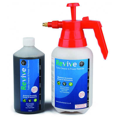 Revive Engine Cleaner & Power Restorer Starter Kit Petrol Diesel Turbo NAS *NEW 9000