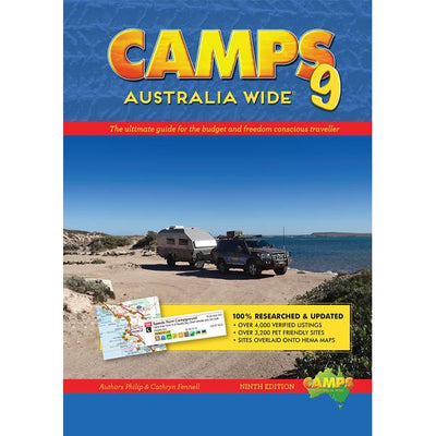 Camps 4WD Australia Wide 9 Caravan Camping Travel Guide Philip Fennell