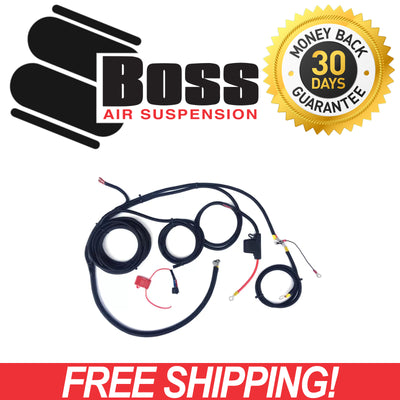 Boss Air Suspension PX07 Onboard Air Wiring Loom COM-PX50A-LOOM
