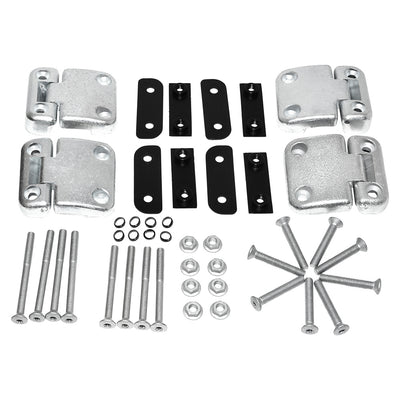 Rear Side Doors Zinc Plated Hinge Kit for Land Rover Defender DA1275