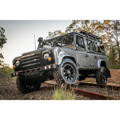 CUSTOM BUILT Land Rover Defender AUTO CONVERSION TD5 110 2003 with Accessories