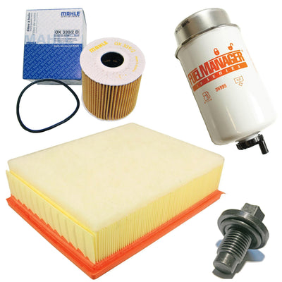 OEM Filter Service Kit Air Oil Fuel for Land Rover Defender TD4 Puma LFK04