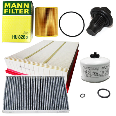 OEM Filter Service Kit Air Oil Fuel Land Rover Discovery 4 3.0L V6 Diesel