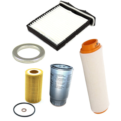 Filter Service Kit Air Oil Fuel Land Rover Freelander 1 TD4 to 2002 OEM FILTERS
