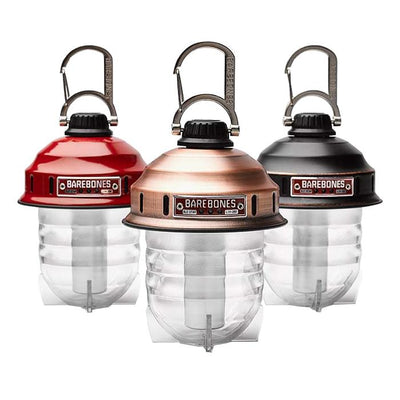 BAREBONES Beacon LED Lantern USB Rechargable 220 Lumen IPX4 Water Resistant