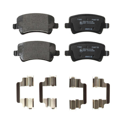 Rear Brake Pads for Land Rover Freelander 2 from DH000001 LR043285