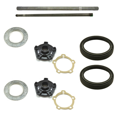 Axle & Flange Kit Rear Land Rover Defender 110 (for Salisbury Diff/Disc Brakes) LRKIT15