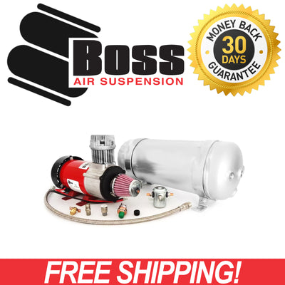 Boss Outback Air Pro 3 PX-07 Air Compressor + AT-03 9L Air Tank COM-OBA-04OAP3