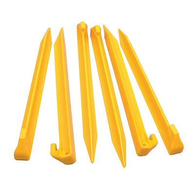 Oztrail Heavy Duty Sand Pegs 22.5cm (Pack of 6) PTT-PO225-B