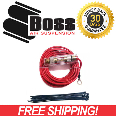 Boss 12v Air Compressor PX01 Wiring Kit COM-PX01-WIRE