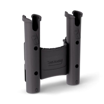 RAILBLAZA ROD HOLDER DUAL WITH CADDY BLACK