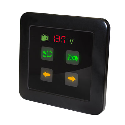 Commander Smart-Touch Switch Panel, 4 Way