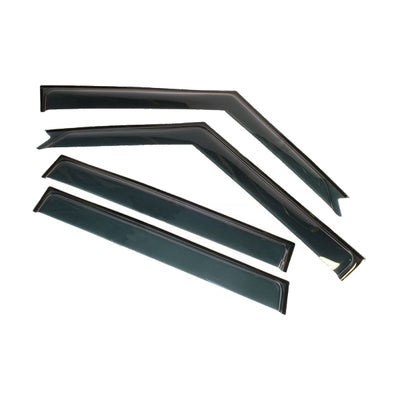 TERRAFIRMA Wind Deflector Kit for Land Rover Discovery 2 (Set of 4) TF661