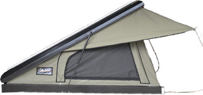 The Bush Company Clamshell Roof Top Tent – Black Series 4RTCCRTT