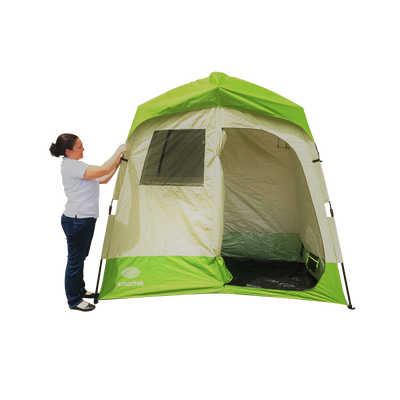 Smarttek Double Ensuite Shower Tent for Hot Water System Camping Shower