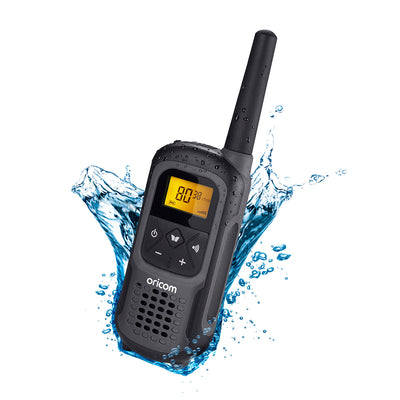 Oricom UHF2500 2 watt Waterproof Handheld UHF CB Radio Single Pack