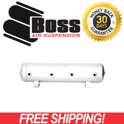 NEW BOSS Aluminium Air Tank 15L (5 Gallon) 9 Port AT-05