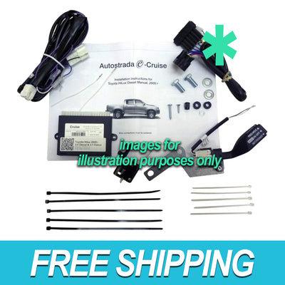 Autostrada Cruise Control Kit for Toyota Hilux 05+ 2.7 4Cyl Man OEM Style EC-TY04GS