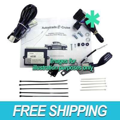 Autostrada Cruise Control Kit for Toyota LC-70 01-07 4.2 6Cyl (DBW) TY05R RF SWS