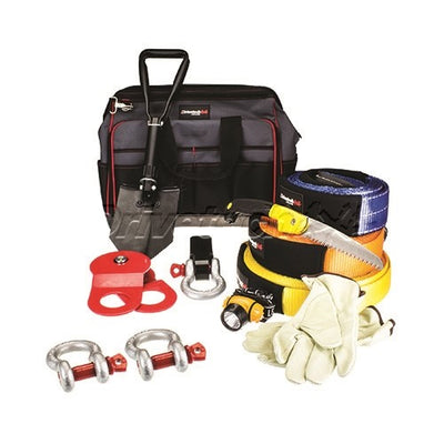 Drivetech Premium OFF ROAD Recovery Kit 4x4 (Large) Mammoth DT-RKLGE 4WD Winch
