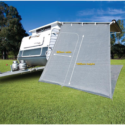 End Drop with Zipper Door - Drop Length: 2.1m (7ft) x Width: 2.3m (7.55ft)