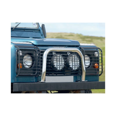 GENUINE Front Light/Lamp Guards Pair for Land Rover Defender 90/110 STC53161