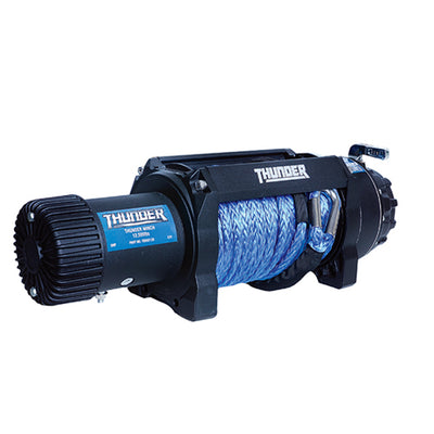 THUNDER 12V 9,500LB Electric Winch w/ Dyneema Rope & Wireless Remote TDR02095