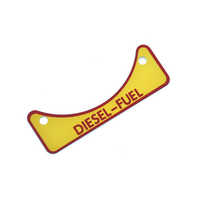 Diesel Fuel Badge Land Rover Defender / Perentie / Series 502951