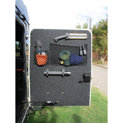 Custom Defender Rear Door Storage Panel Organiser - Attach anything!