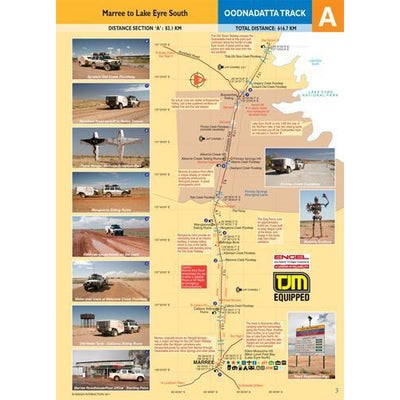 Design Interaction Oodnadatta Track Guide Full Colour Map