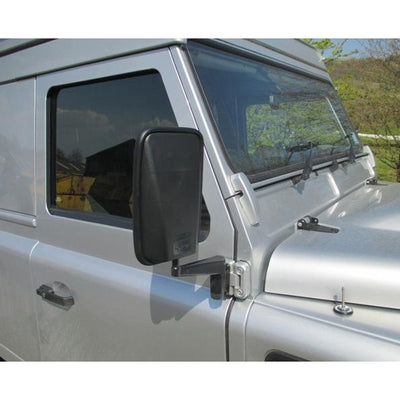 Mirror LH Blind Spot Land Rover Defender/Perentie MUD UK Passengers Side Larger