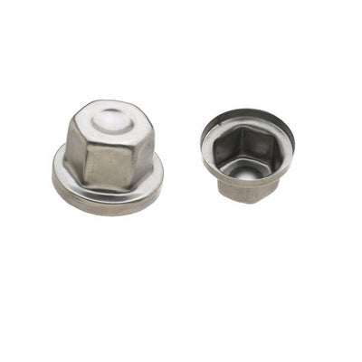 Wheel Nut Cover Chrome Land Rover Defender Discovery 2 Range Rover P38 RRJ100120